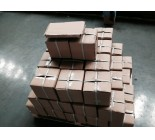 Cutting steel tube Pallet Packing