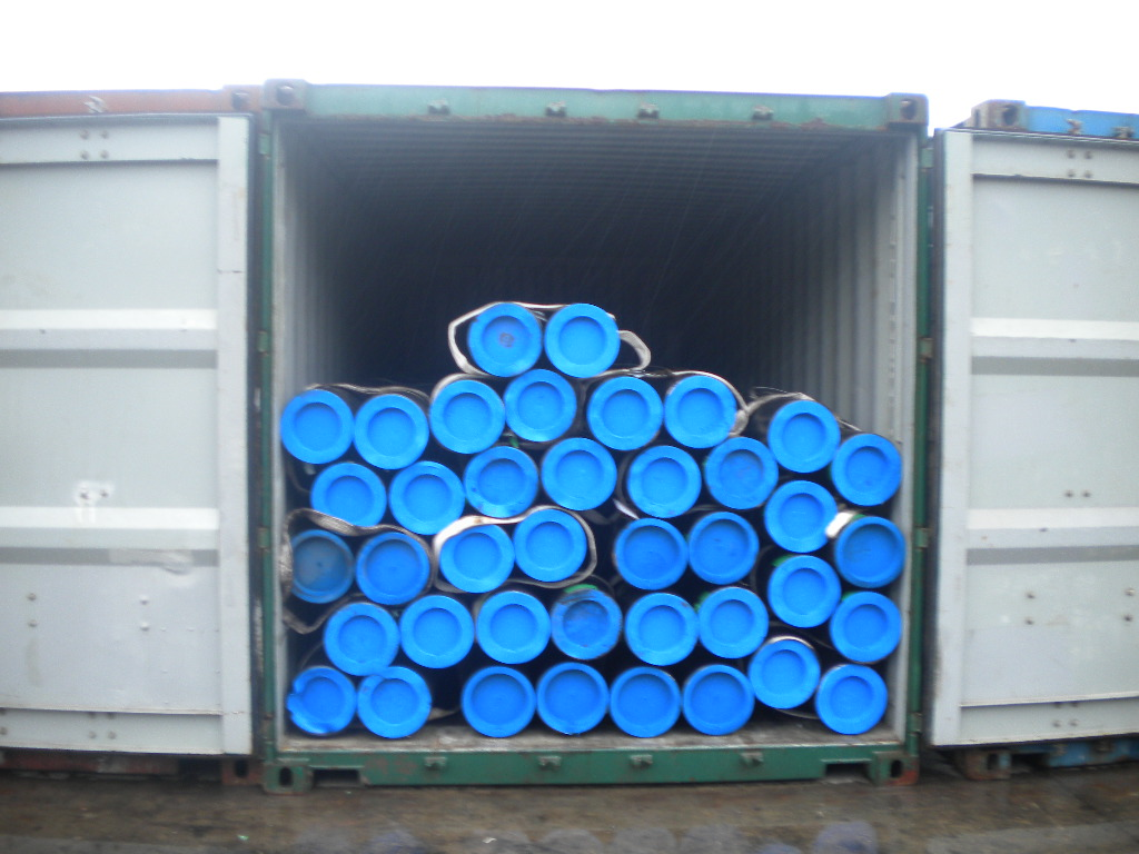 ASTM A106 A53 API 5L Seamless Steel Tube