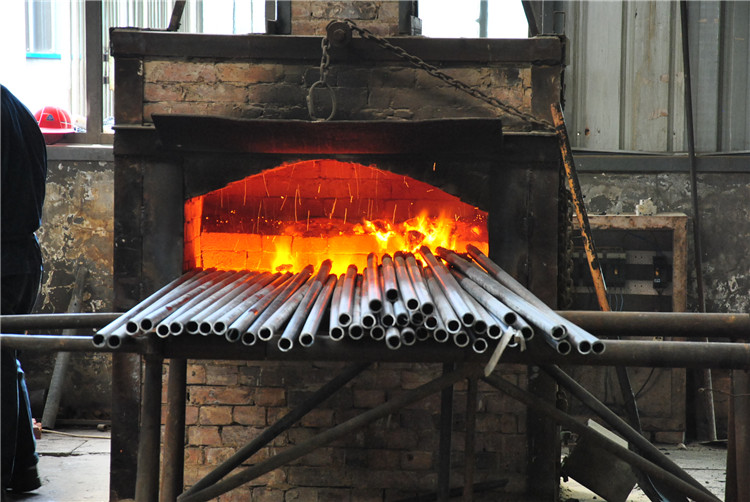 Seamless Steel Pipe Draw Head Heating