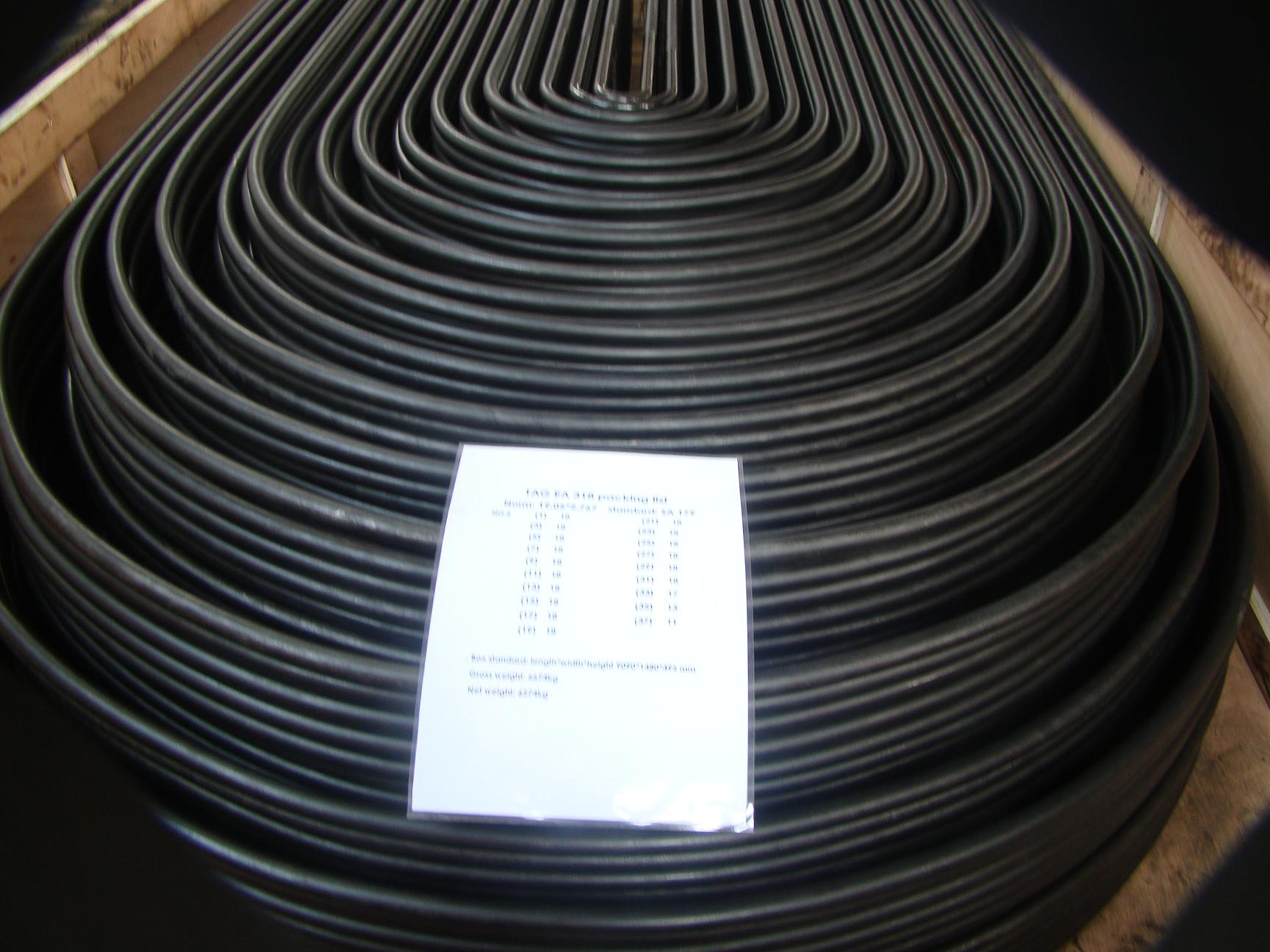 Seamless Steel Tubes SA192 U tubes Heat Exchanger and Shell Tubes supplier