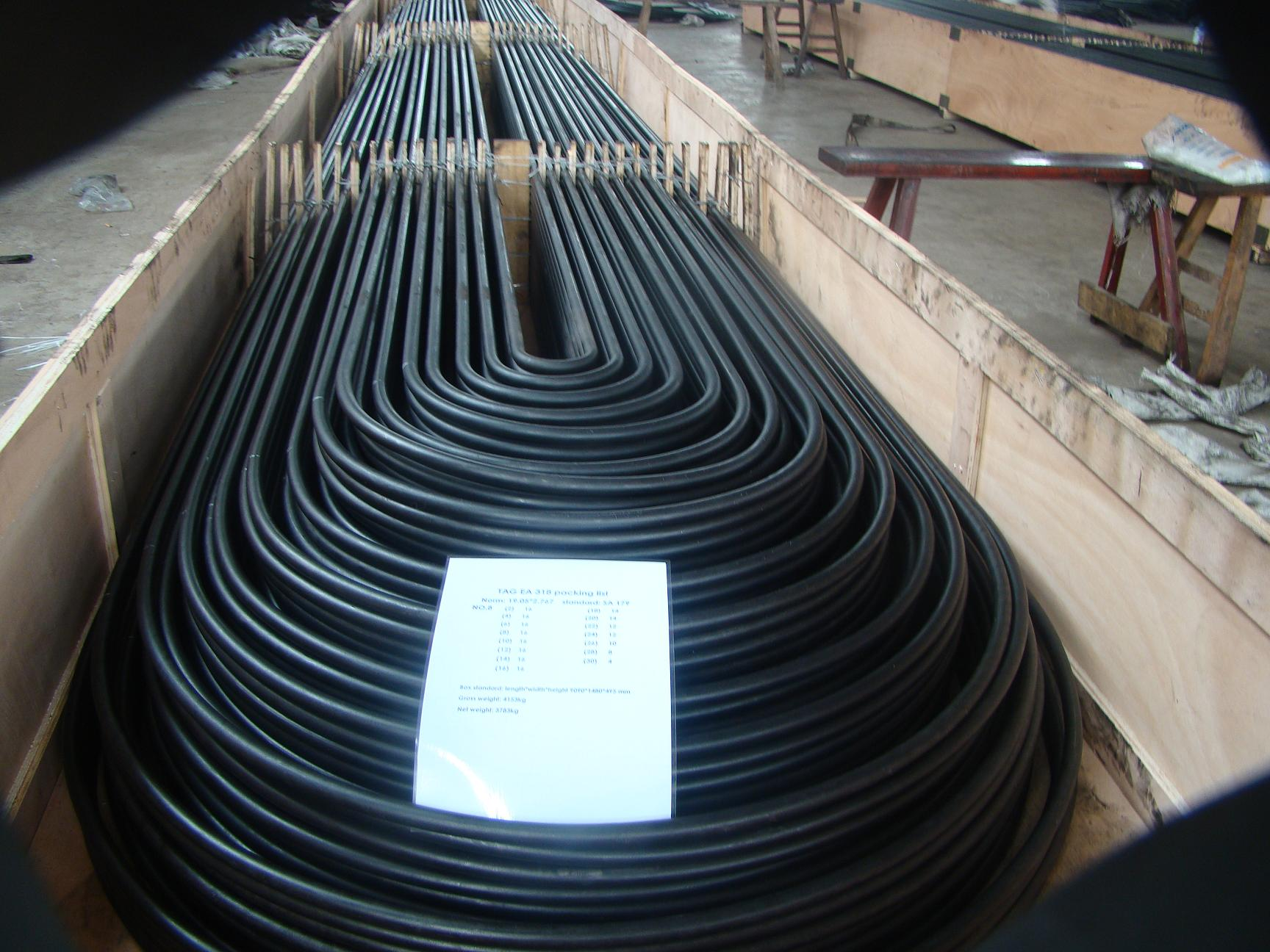 cheap Seamless cold drawn low carbon steel hear exchanger tubes and condenser tubes suppliers
