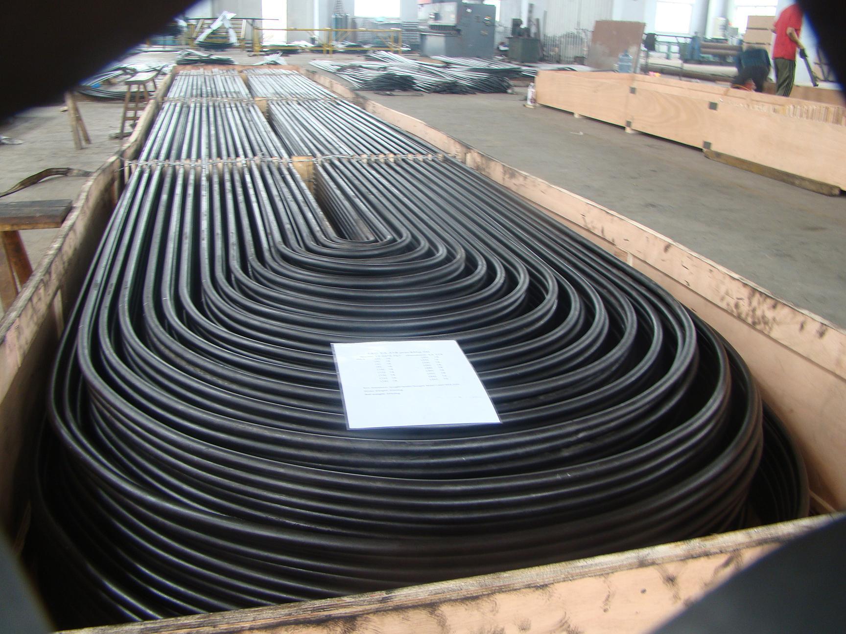 SA192 U Tubes Heat Exchanger and Shell Tubes
