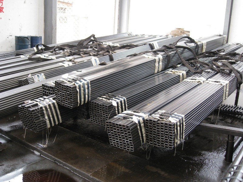 Seamless Square Steel Tubes Cold Drawn Processing